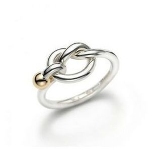 Tiffany love knot ring